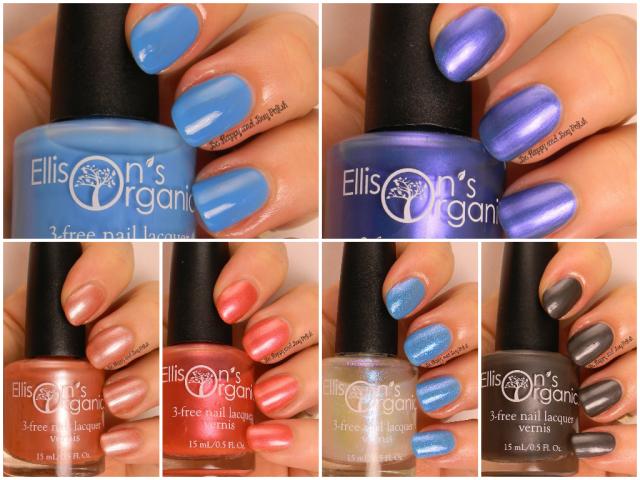 Ellison's Organics nail polishes | Be Happy And Buy Polish