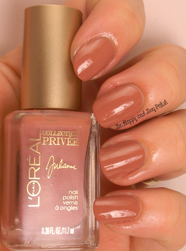 L'Oreal Julianne's Nude | Be Happy And Buy Polish