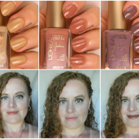L'Oreal Collection Privée lipstick and nail polish, part two