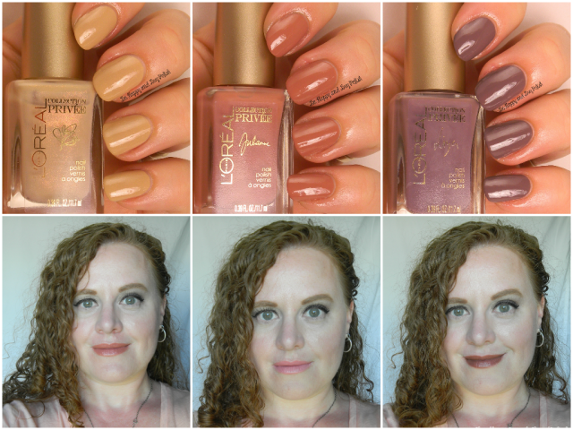 L'Oreal Collection Privee lipsticks and nail polishes | Be Happy And Buy Polish