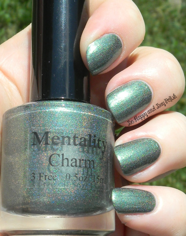 Mentality Charm | Be Happy And Buy Polish