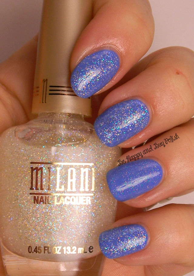 Milani Diamond Dazzle versus Sinful Colors Smokin Hot | Be Happy And Buy Polish