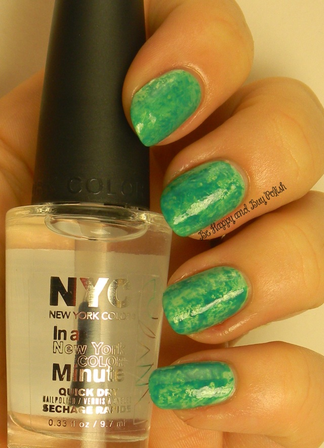 NYC New York Color  Amazon Green and Palm on the Beach | Be Happy And Buy Polish