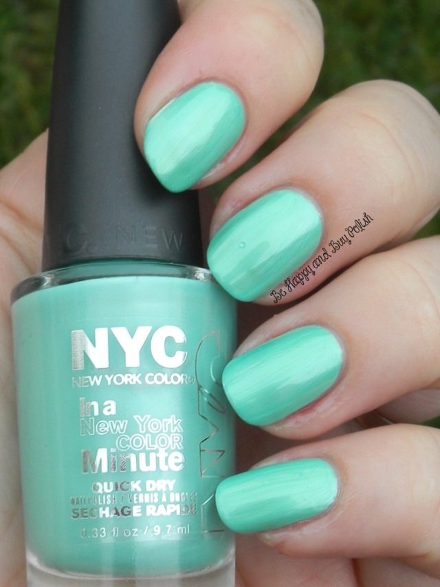 NYC New York Color Amazon Green | Be Happy And Buy Polish