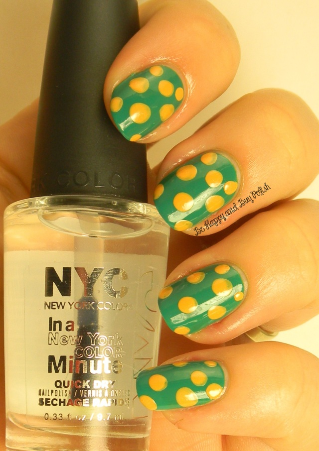 NYC New York Color  Palm on the Beach and Sweet Melon | Be Happy And Buy Polish