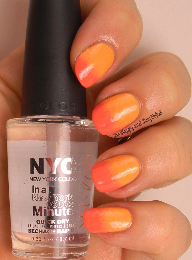 NYC New York Color Sweet Melon and Tropicoral | Be Happy And Buy Polish