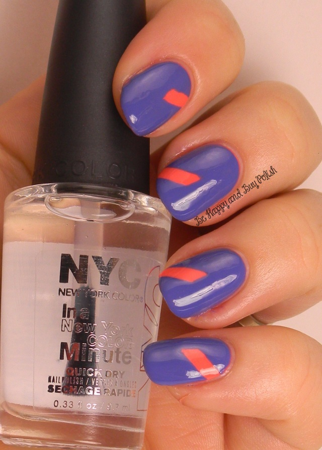 NYC New York Color Tropicoral and Jacaranda Flower | Be Happy And Buy Polish