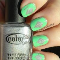 OMD2 Nail Art Challenge: Mint