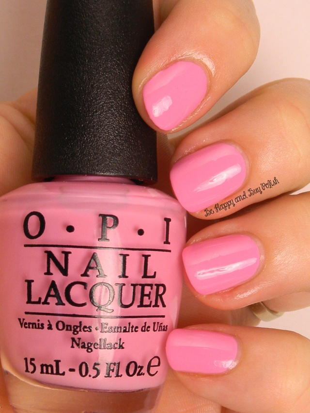 OPI Flamingo Tini Pink | Be Happy And Buy Polish