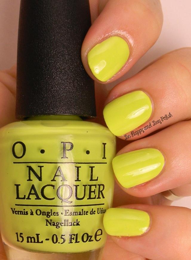 OPI Life Gave Me Lemons | Be Happy And Buy Polish