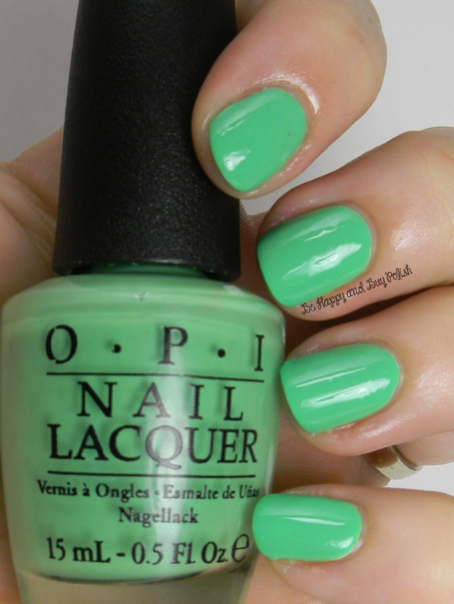 OPI You're So Outta Lime | Be Happy And Buy Polish