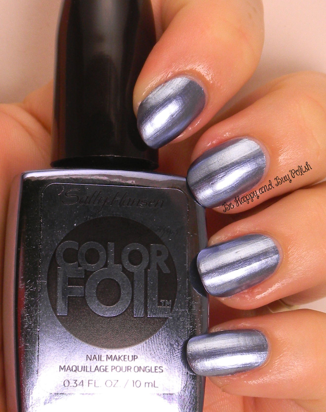 Sally Hansen Color Foils (partial collection) | Be Happy and Buy Polish