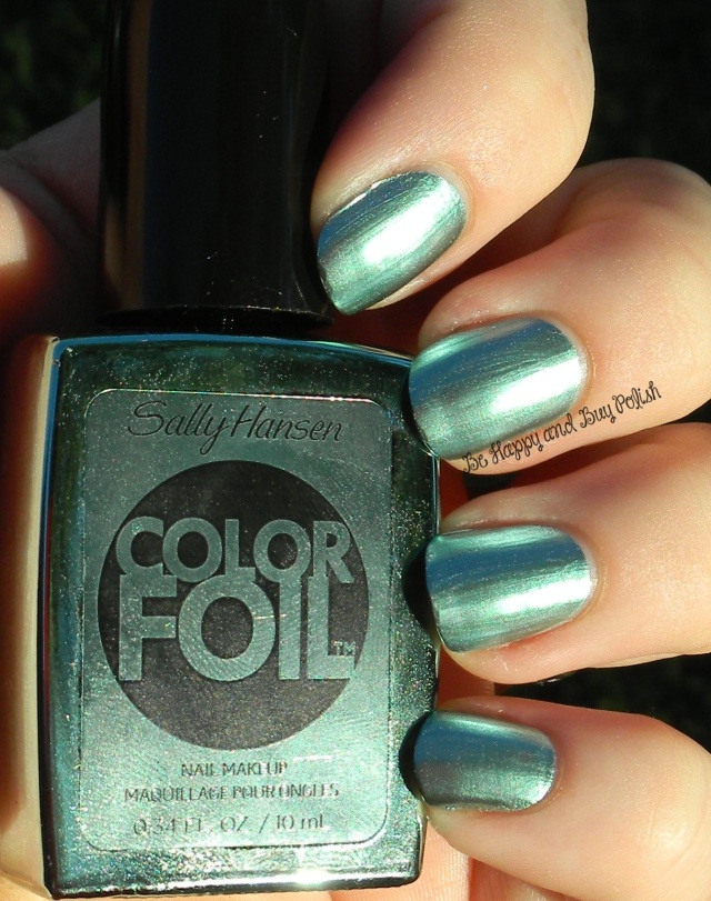 Sally Hansen Minted Metal Color Foil | Be Happy And Buy Polish