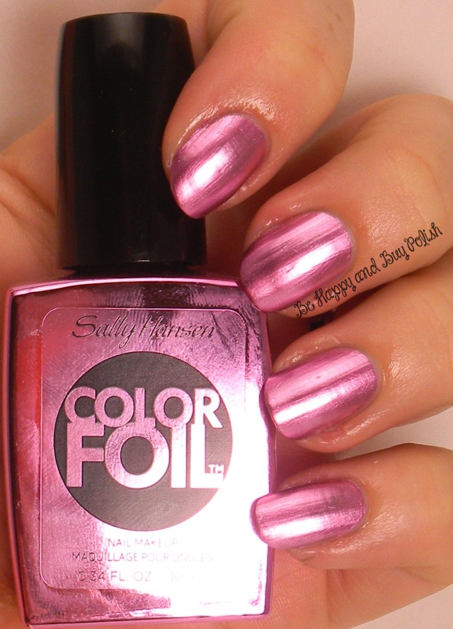Sally Hansen Titanium Flush Color Foil | Be Happy And Buy Polish