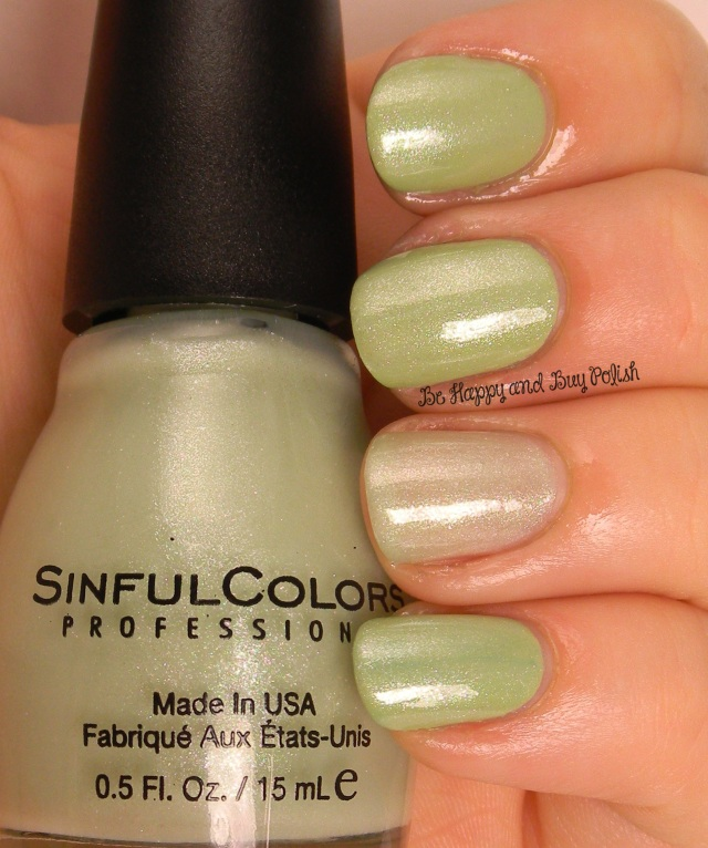 Sinful Colors Bring it Sheer over Song of Summer | Be Happy And Buy Polish