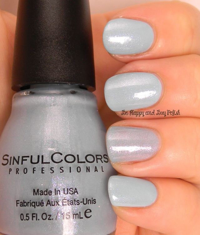Sinful Colors From Sheer to Eternity over Tidal Wave | Be Happy And Buy Polish