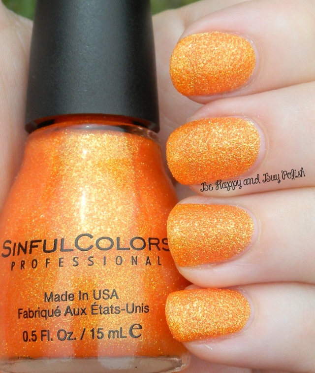 Sinful Colors Orange Crush | Be Happy And Buy Polish
