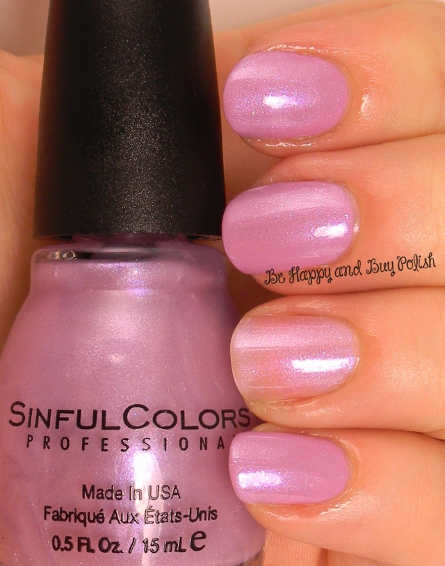 Sinful Colors Sheer Genius over Beverly Hills | Be Happy And Buy Polish