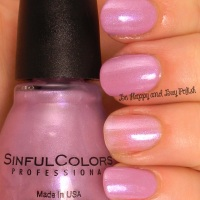 Sinful Colors Sheer trio nail polishes