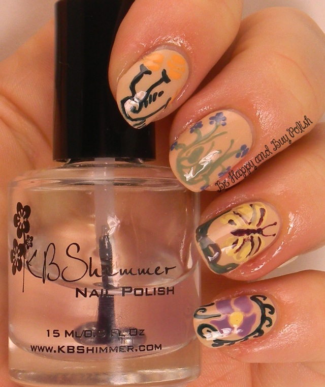 Summer Time Art Nouveau Garden | Be Happy And Buy Polish