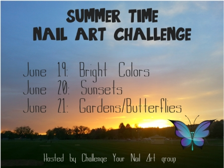 Summer Time Nail Art Challenge | Be Happy And Buy Polish