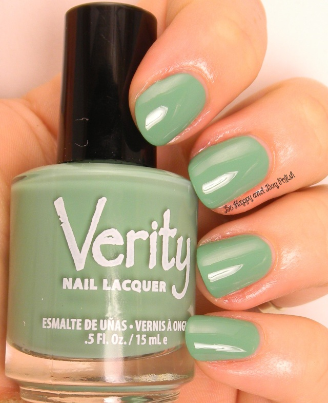 Verity Nail Lacquer Asian Jade | Be Happy And Buy Polish