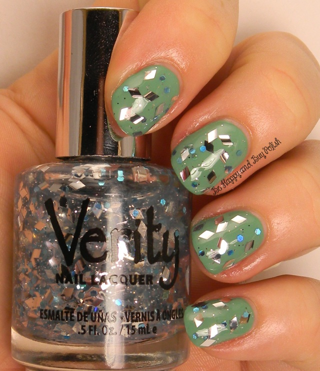 Verity Diamond Shines over Verity Asian Jade | Be Happy And Buy Polish