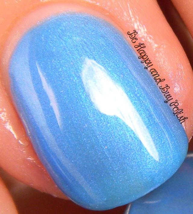 Verity Nail Lacquer Flamenco Blue | Be Happy And Buy Polish