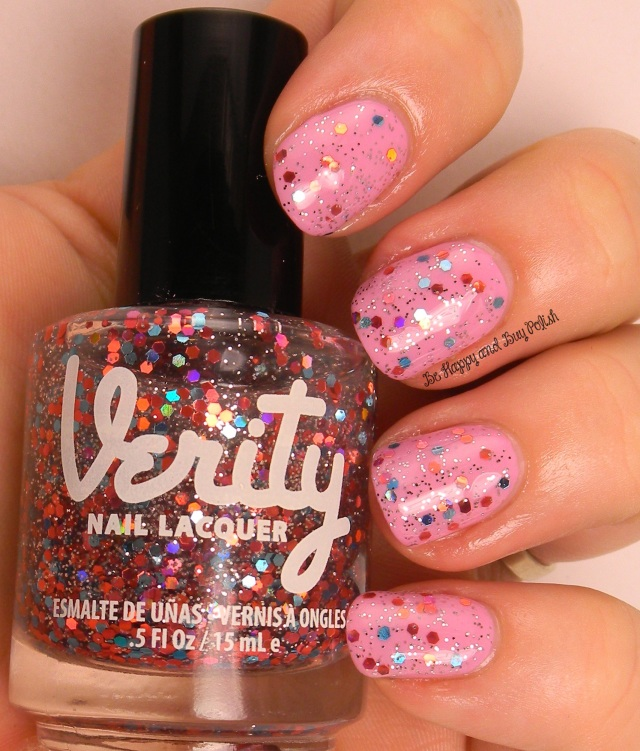 Verity Movie Stars over Verity Soft Purple | Be Happy And Buy Polish