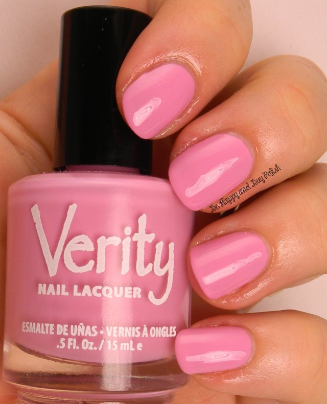 Verity Nail Lacquer Soft Purple | Be Happy And Buy Polish