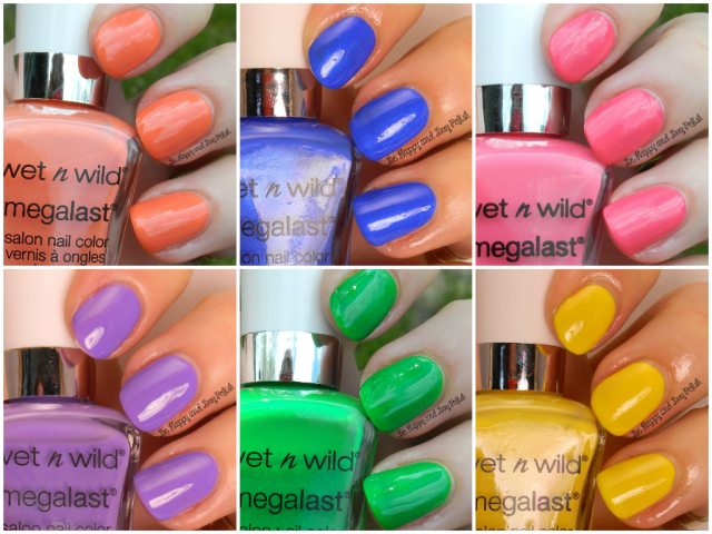 Wet n Wild Summer 2014 MegaLast Nail Colors | Be Happy And Buy Polish