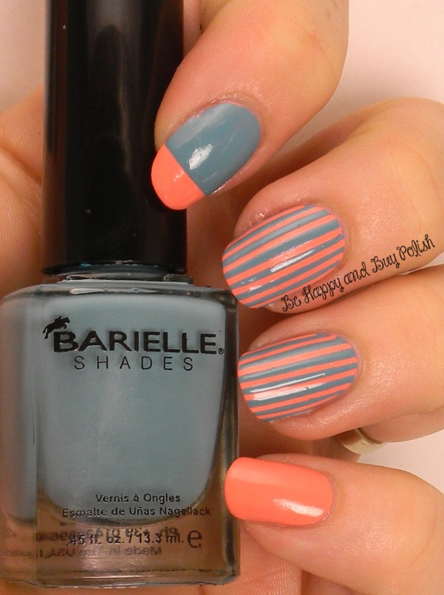 Barielle Peach Popsicle and Magna Cum Laude Turquoise | Be Happy And Buy Polish