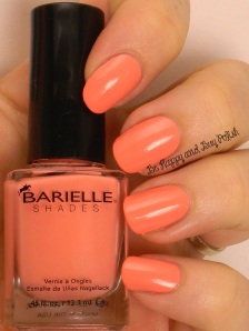 Barielle Peach Popsicle | Be Happy And Buy Polish