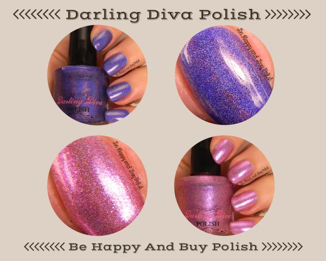 Darling Diva Polish Bella Donna and I Hate Pink | Be Happy And Buy Polish