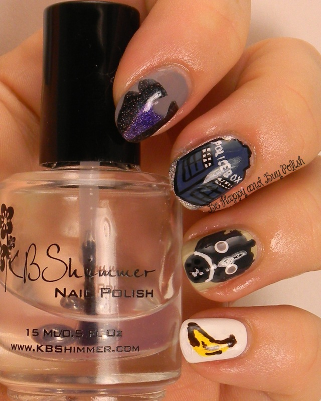 Doctor Who Nail Art | Be Happy And Buy Polish