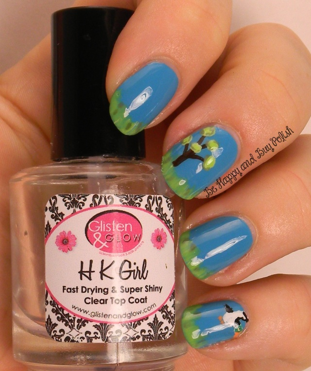 Duck Hunt nail art | Be Happy And Buy Polish