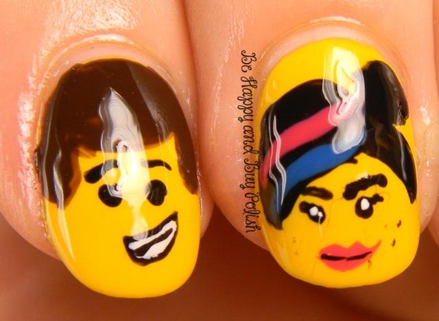 Lego Movie Nail Art | Be Happy And Buy Polish