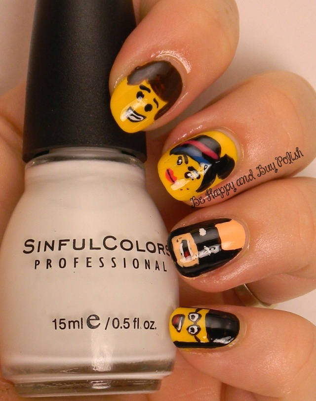 Lego Movie Nail Art | Be Happy And Buy Polish
