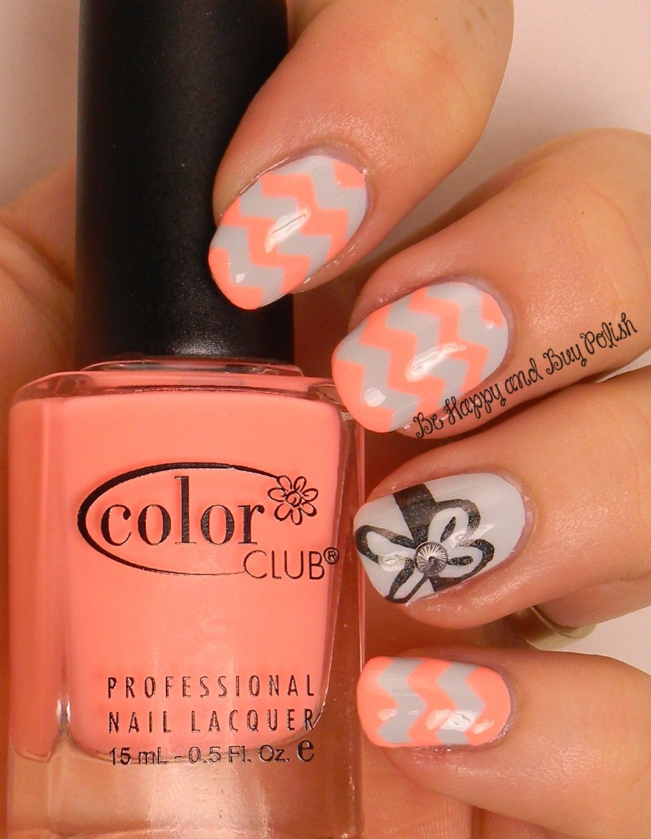 OMD2 Chevrons | Color Club Silver Lake, East Austin, Beyond | Be Happy And Buy Polish