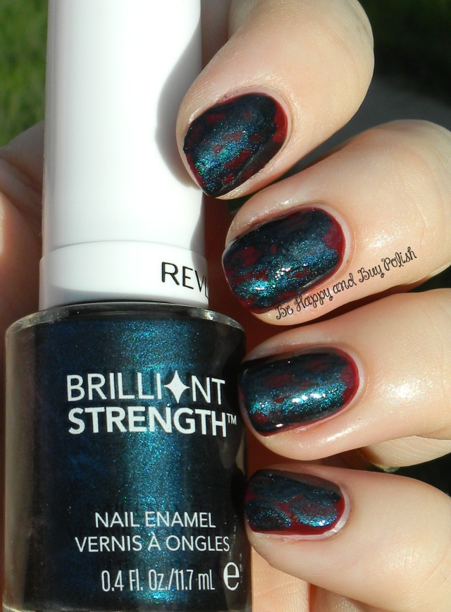 OMD2 Nail Art Duochrome   Revlon Persuade, Beguile   Be Happy And Buy Polish
