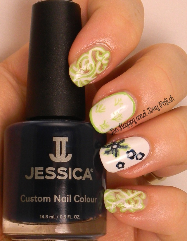 OMD2 Fashion Inspired | Jessica Lime Cooler, Blue Aria, Sharktooth | Be Happy And Buy Polish