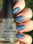 OMD2 Galaxy Nail Art | Be Happy And Buy Polish