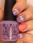 OMD2 Nail Art Challenge Lavender | OPI You're So Vain-illa, Don't You Lilac It, Sorry I'm Fizzy Today | Be Happy And Buy Polish