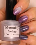 OMD2 Ombre Gradient | Mentality Gelato, Lollipop, Royalty, Divergent | Be Happy And Buy Polish