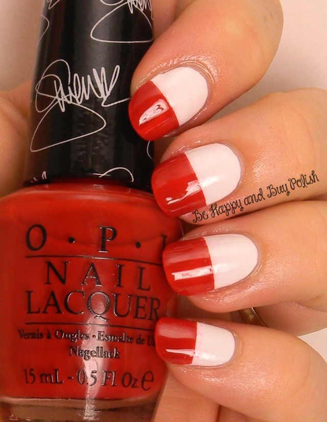 OMD2 Nail Art Poland Flag | Be Happy And Buy Polish