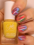 OMD2 Rainbow Watermarble | JulieG Cruise collection | Be Happy And Buy Polish