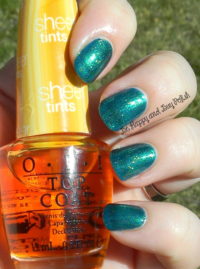 OPI I'm Never So Amberrassed, OPI The Sky's My Limit | Be Happy And Buy Polish