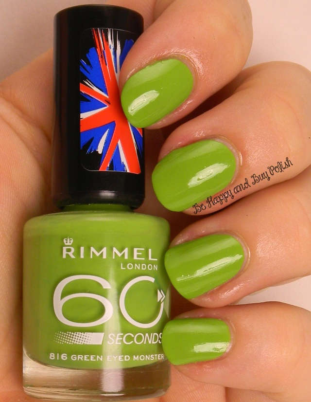 Rimmel Big Green Eyed Monster | Be Happy And Buy Polish
