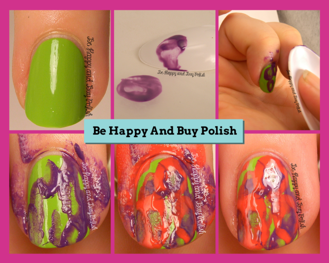 Spoon Nail Art Tutorial | Be Happy And Buy Polish