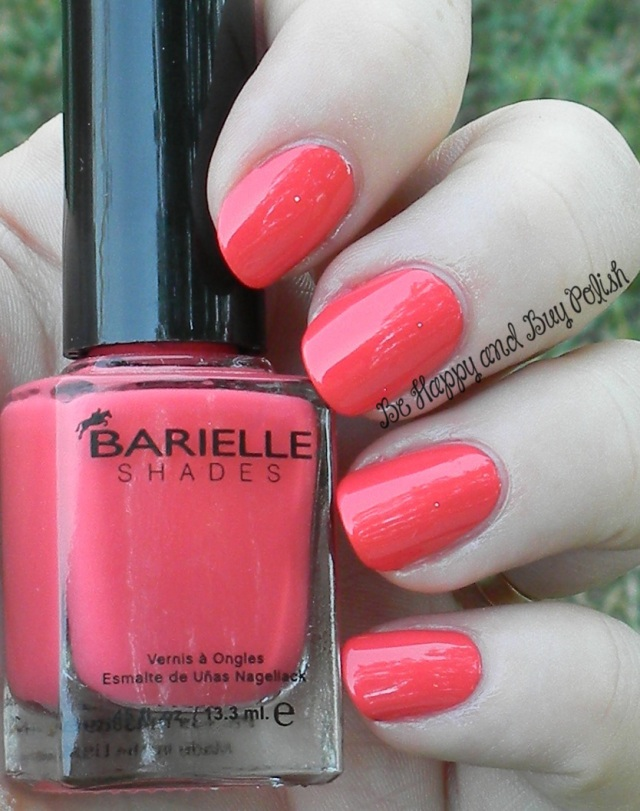 Barielle Straight A Coral | Be Happy And Buy Polish